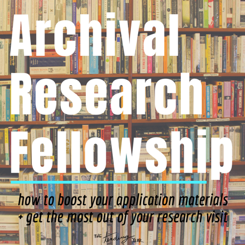 1.33: My Archival Research Fellowship