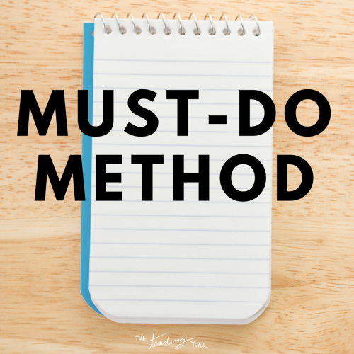 1.36: Must-Do Method
