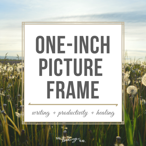 1.40: One-Inch Picture Frame