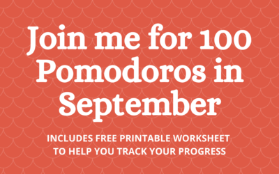 Join Me for 100 Pomodoros in September